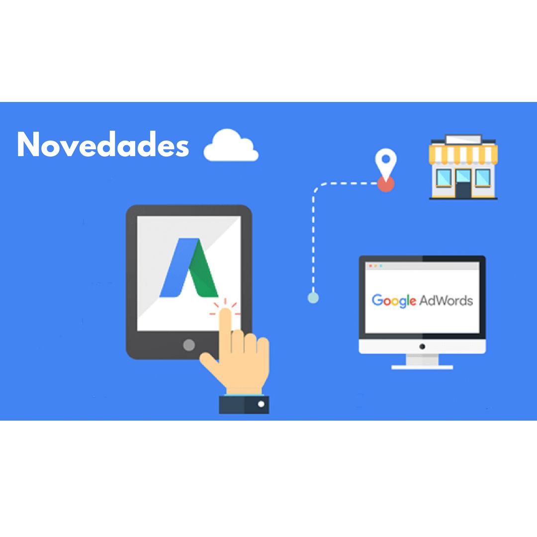 novedaes google-adwords 2018