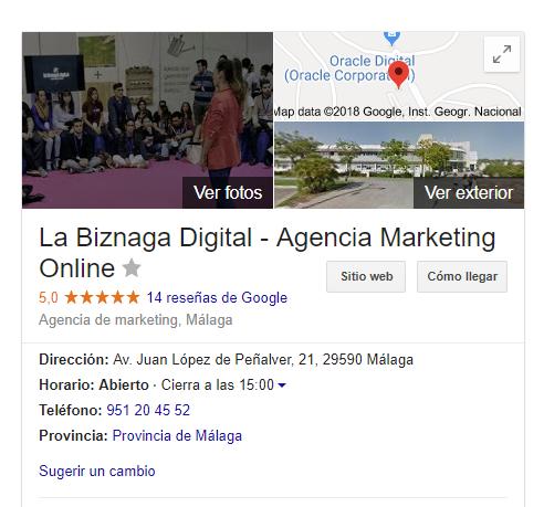 la biznaga digital my business