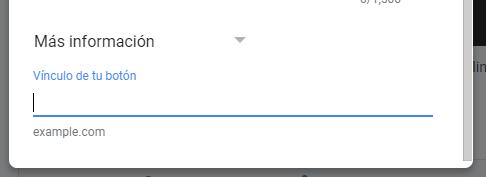 Google My Business información
