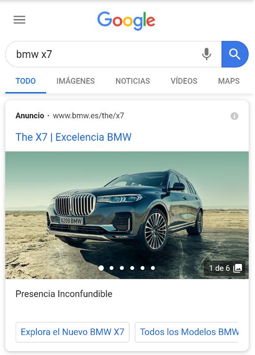 Captura de BMW X7