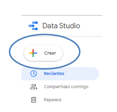 crear google data studio