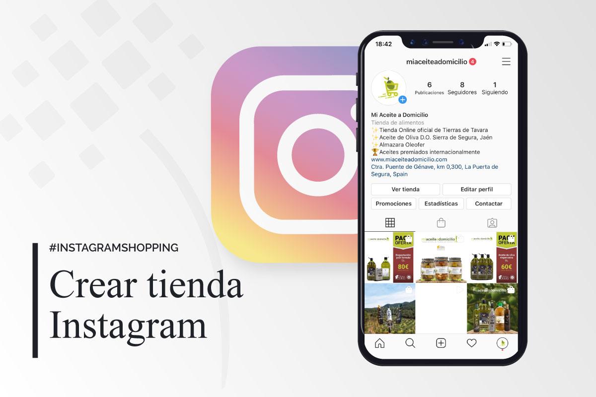 crear tienda en instagram