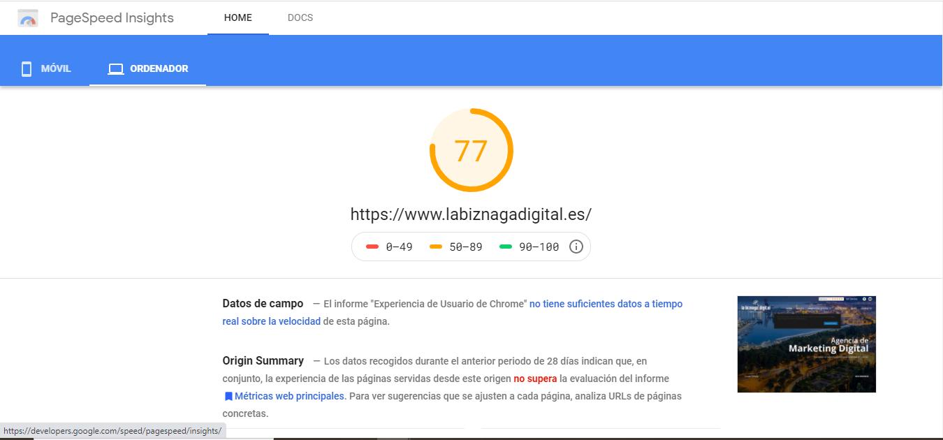 herramienta-velocidad-carga-web-page-speed-google