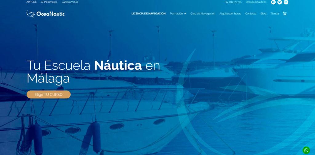 Ocenautic web