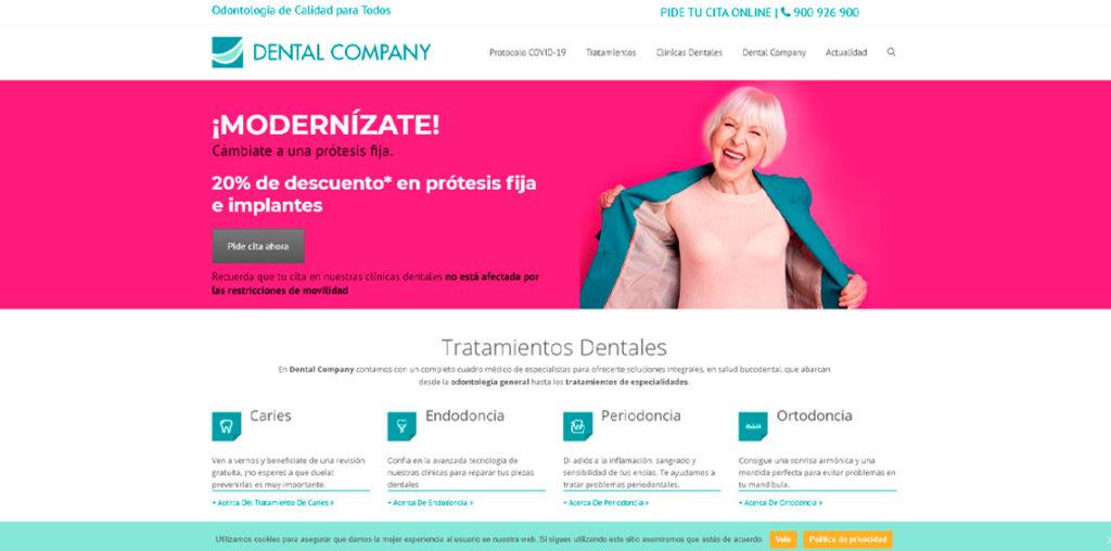 Dental Company web